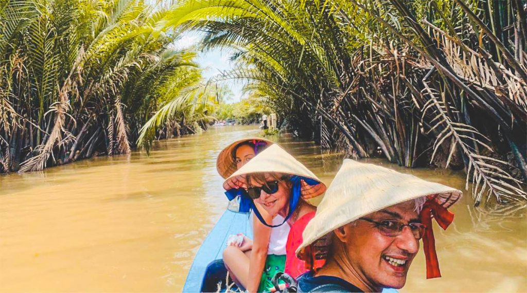 Mekong Delta by speedboat