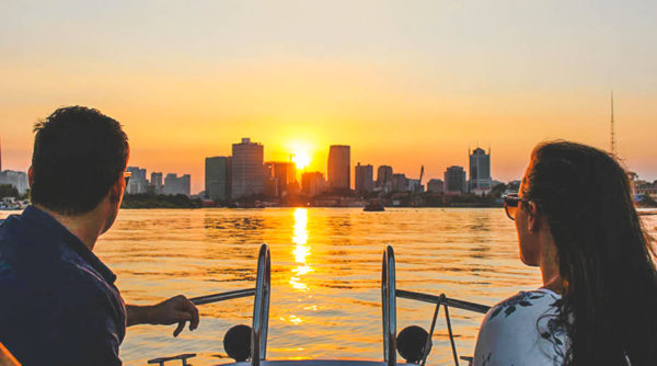 Sunset boat tour in Ho Chi Minh City