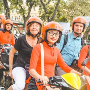 Vespa city & Food Tour Ho Chi Minh City