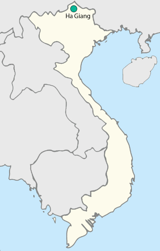 Ha Giang map