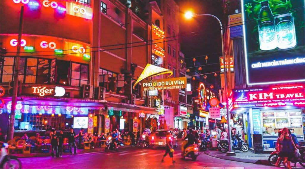 Nightlife in Ho Chi Minh City