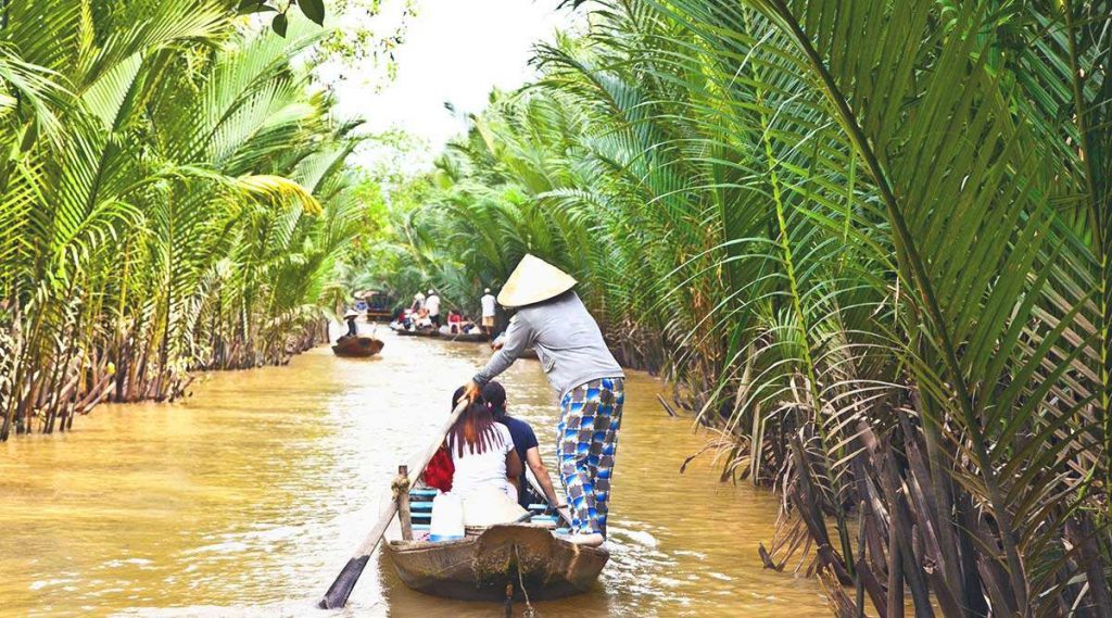Mekong Delta destination in Vietnam