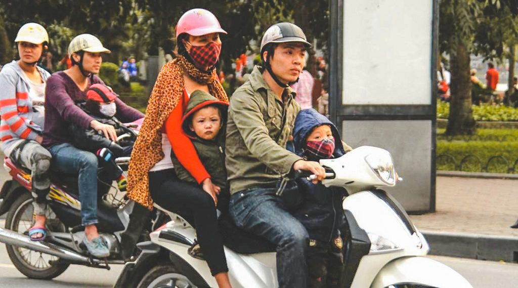 motorbike traffic rules in Vietnam