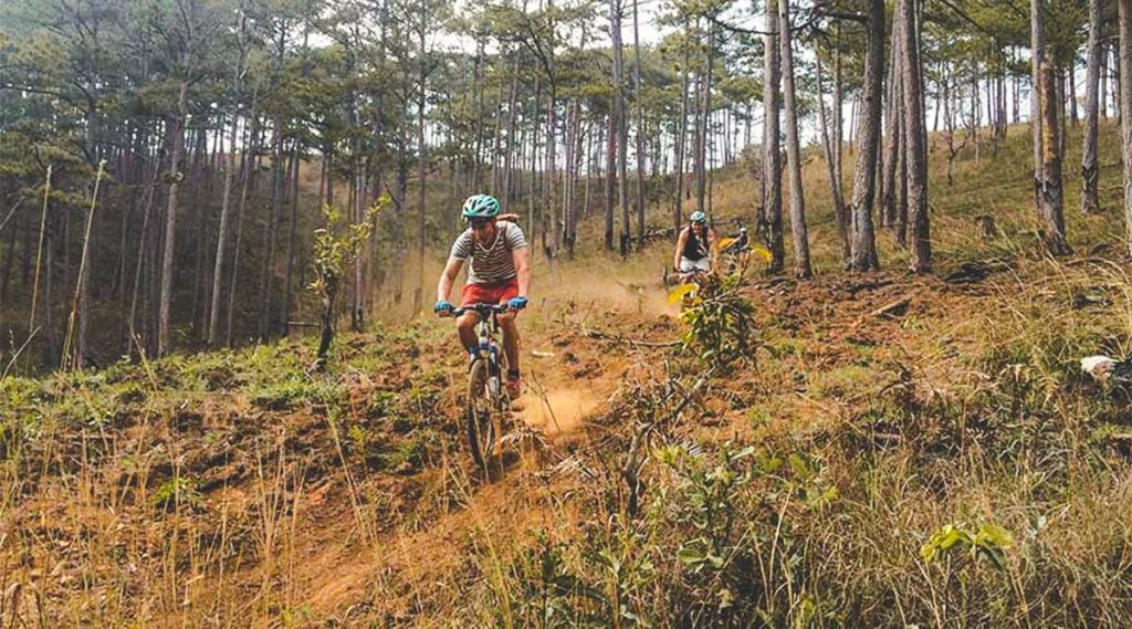 mountain biking Dalat