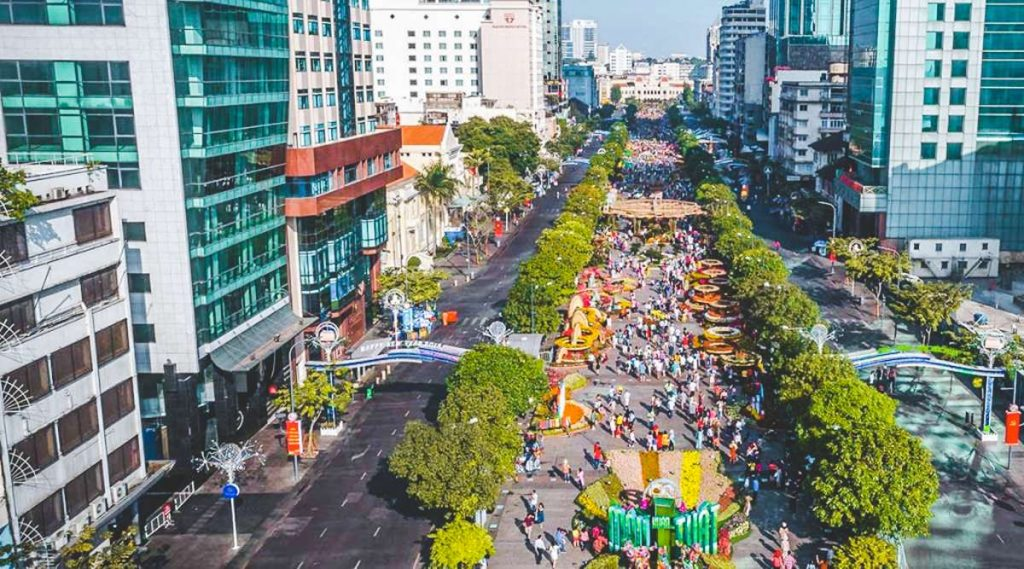 Nguyen Hue Walking Street