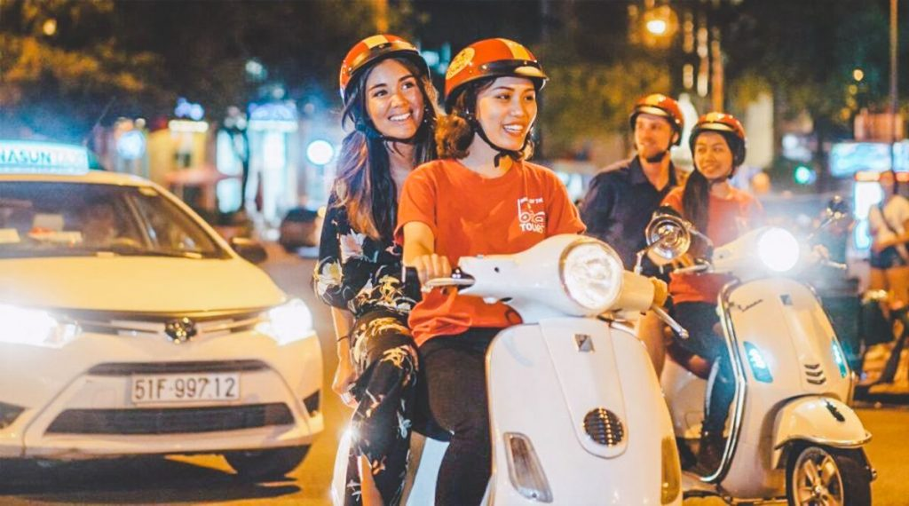 4. Street food tour on the back of a scooter in Ho Chi Minh City