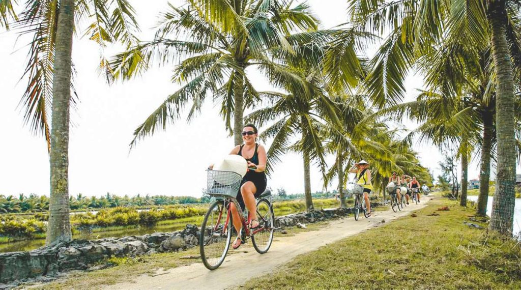 countryside by bike in Hoi An