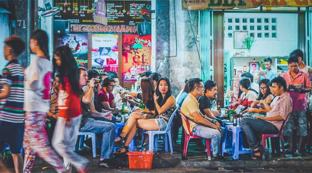 street food in district 1
