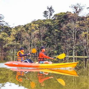 Kayaking and hiking in Dalat