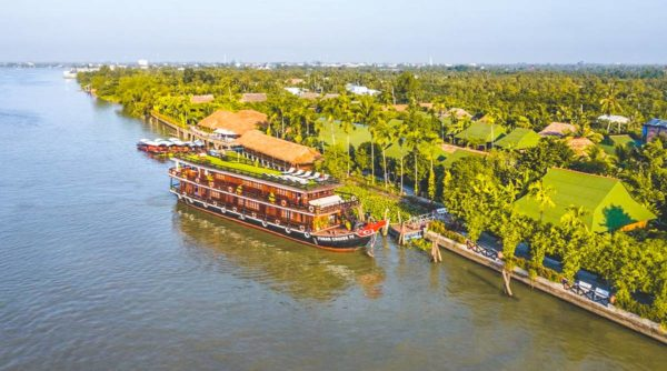Luxury Mekong Delta cruise