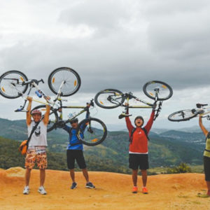 Phoenix Hill mountain biking Dalat