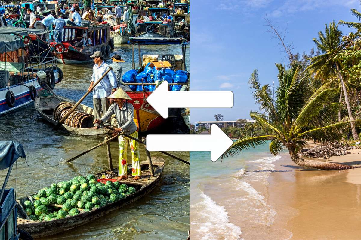 Mekong Delta to Phu Quoc