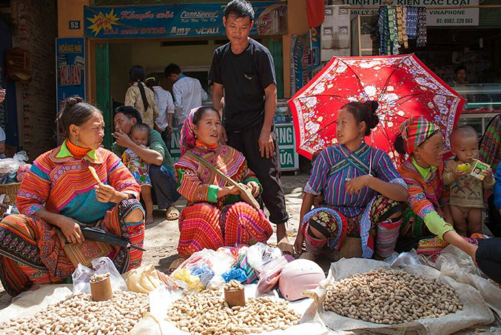 Coc Pai market in Ha Giang