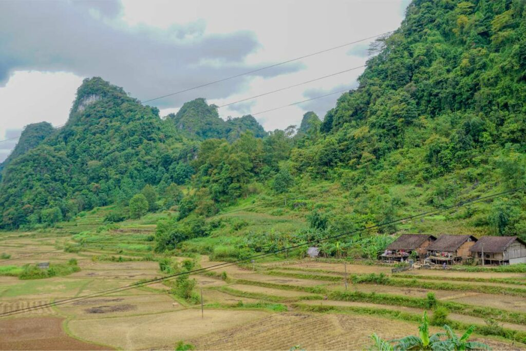 village in Tuyet Tinh Coc