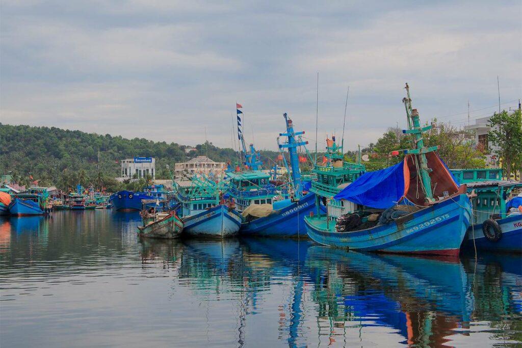fishing village Phu Quoc