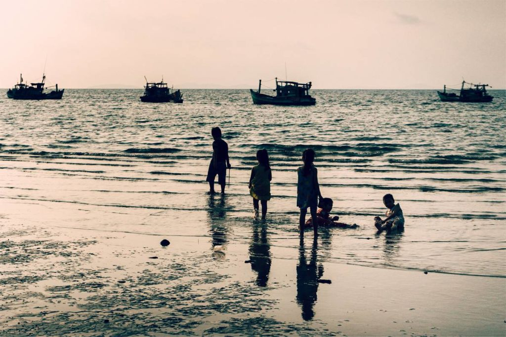 Phu Quoc with children