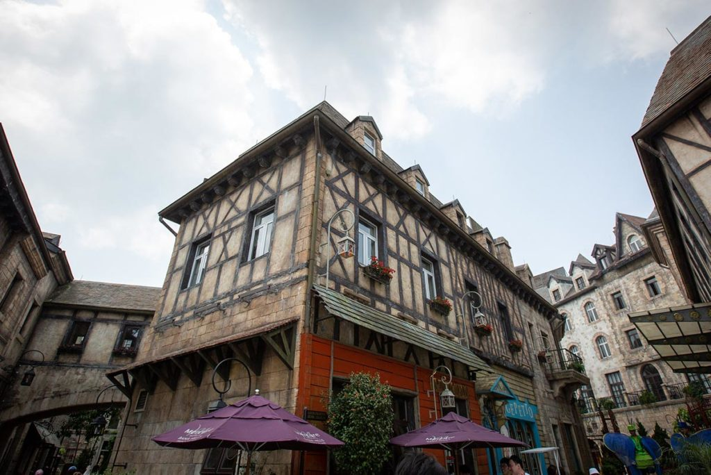 French village in Ba Na Hills